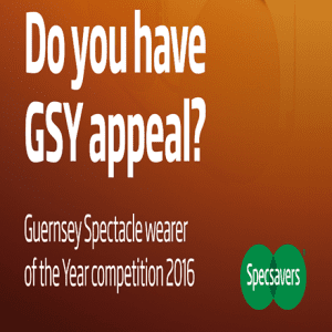 Specsavers 'Guernsey Spectacle Wearer of the Year'